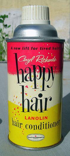 Happy Hair 1950's