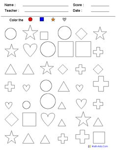 Kindergarten Math worksheets...create your own!