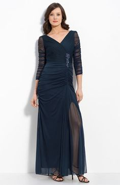 nordstrom, mothers, mesh gown, gowns, brides, the bride, bead mesh, bride dresses, blues