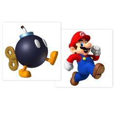 Super Mario Party Tattoos, 89416