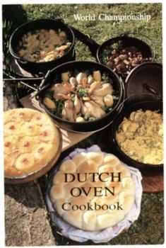 World Championship Dutch Oven Cookbook - Filled with 88-pages of recipes covering the basics.  It makes cooking with dutch ovens easy.