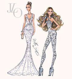 Jennifer Lopez: Red Carpet to the Stage by Hayden Williams #HappyBirthdayJLo