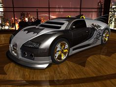 Bugatti Veyron Batmobile! A Bit much?
