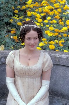 Jennifer Ehle as Elizabeth Bennet in Pride and Prejudice (1995)