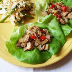 Chicken Lettuce Wraps -- $1.35 per serving | 15 Cheap Recipes and Dinner Ideas | Budget-Friendly Family Recipes | Food | Disney Family.com