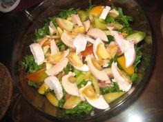 Ensaladang Pako (Fern Salad and salted egg with simple Vinaigrette)