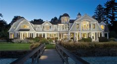 """""""Vacation at home with  your own deepwater dock, pool,  cabana and tennis court."""" Yes, please!"""