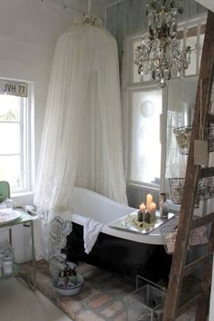 I already have the set up, just need a few more embellishments...  Wish list-chandalier