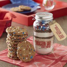 cooki, mason jars