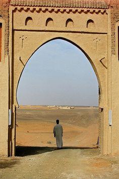 The Sahara desert, Morocco