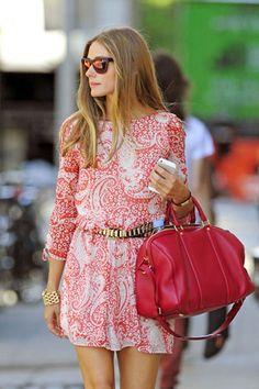 Olivia Palermo's  Summer Look