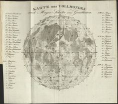 Ancient Map of the Moon