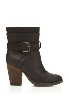 The perfect short boot for winter.