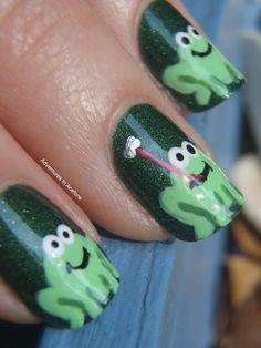 Adventures in Acetone: Frogs