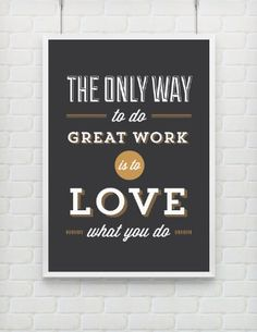 Typography Print Quote Print Inspirational Black Gold by paperchat