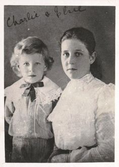 Young Charles with Mother Clare.