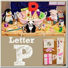 Home #Preschool Letter P