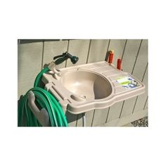 Outdoor Garden Sink Make clean up easy no matter where you are with this portable outdoor basin