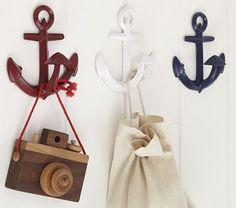 Anchor Hooks #PotteryBarnKids