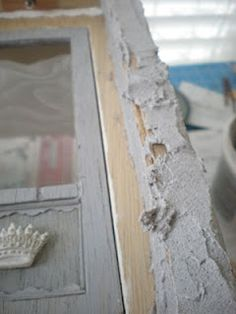 tutorial for applying concrete to walls
