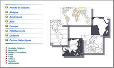 d-maps : un site qui propose des milliers de cartes géographiques et historiques, à utiliser librement.