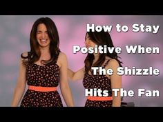 Press play to learn how to stay positive when shizzle hits the fan! Repin if you loved this advice, and get more by signing up for the newsletter at www.marieforleo.com