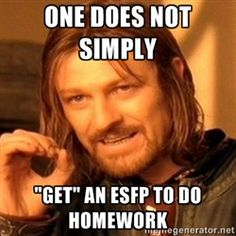 ESFP - no kidding...