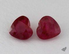Natural Rubies - Heart Shaped <3 #heart #rubies #jamesallen