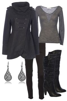 love this outfit for winter!