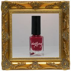 MORNING ROMP - No-one should be asking you if you had one, but there's nothing to stop them thinking it, right? That's what we thought. (Dark dahlia pink high-gloss creme.) $18.95