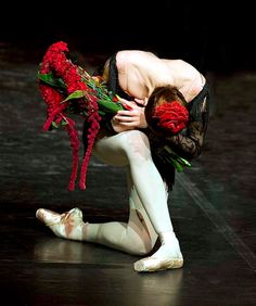 Svetlana Zakharova, after ballet Carmen