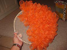 pumpkin wreaths, halloween wreaths diy, thought, door, apples, pumpkin wreath diy, embroidery hoops, christmas ornaments, wreath tutorial