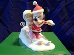 Snowbabies Minnie's Special Deliveries Collectible Figurine Dept 56 w/box mouse | eBay