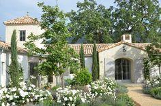 Lovely villa with Italian garden. click to see more of Patina Farm.