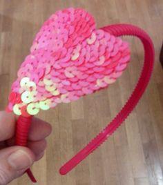 Diadema corazon