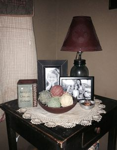 end table decorations on pinterest