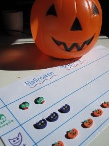 Halloween Math - grouping  - Re-pinned by #PediaStaff.  Visit http://ht.ly/63sNt for all our pediatric therapy pins