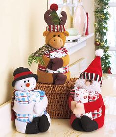 4-Pc. Holiday Gift Towel Sets