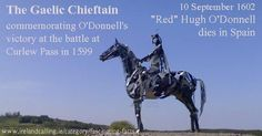 O'Donnell-leader 9 Yrs War'(1595-1603) Curlew Pass-major victory for Irish. More Irish facts  http://www.irelandcalling.ie/category/fascinating-facts/page/12… pic.twitter.com/gv1bgqbFG5