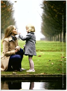 india hicks family, domino, style, mother, daughters, photo, coat