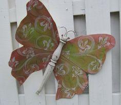 Table Leg Butterfly Mariposa Wall or Garden by LucyDesignsonline,