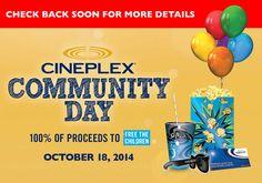 @cineplex Community Day