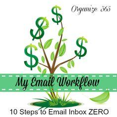 10 Steps to Email Inbox ZERO: Step 9 - My Email Workflow   Organize 365