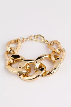Derng gold bracelet, I want this!