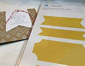 Love the envelope banner dies from Lifestyle Craft.