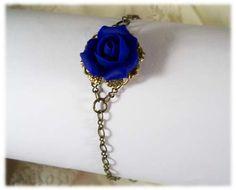 Rose Bud Vintage Style Bracelet