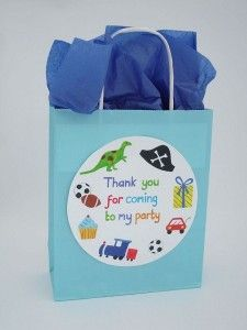 Love these party bags, great for little boys.