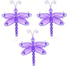 Bugs-n-Blooms specializes in nylon butterfly decorations, hanging dragonflies, ladybug decor, bumble bees and daisy flower decor for your little girls nursery or bedroom. Our dragonflies are designed to coordinate with any bedding to create a stunning garden themed room using our dragonfly, ladybugs, bumble bees and daisy flower decor. Our elegant nylon accessories are perfect to hang from the ceiling and/or attach to the walls. All of Bugs-n-Blo...