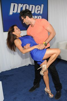 DWTS pro Maksim and Brooke Burke have a dance off!