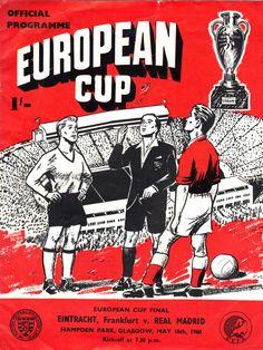 1960 European Cup Final - Real Madrid 7 Eintracht Frankfurt 3 - Hampden Park, Glasgow